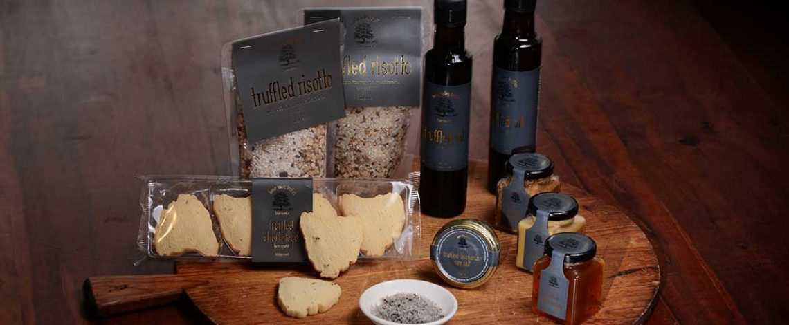 Range of Tamar Valley Truffle Products