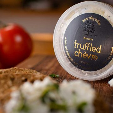 Tamar Valley Truffles Truffled Chevre